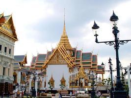 Bangkok, Thailand, 2021 - Tourists at The Wat Phra Kaew