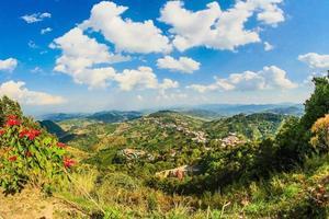 Aerial view of Chiang Rai photo