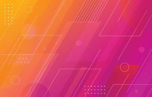 Abstract Gradient Color Line Background vector