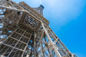 Eiffel tower landmark of Parisian Hotel and Resort in Macau city, China photo
