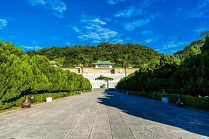 museo del palacio nacional de taipei en taipei, taiwán foto