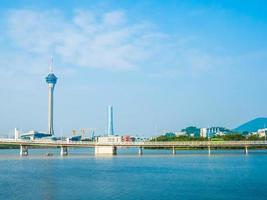 torre de macao en macao, china foto