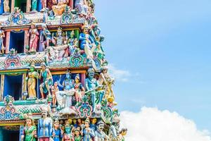 Indian hindu temple in Singapore photo