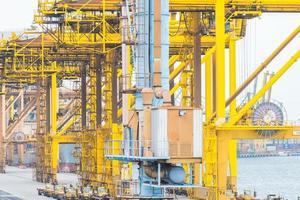 Singapore crane shipping cargo