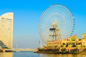 Ferris wheel in Yokohama, Japan photo