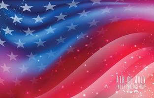 4th of July Independence Day USA Flag Background
