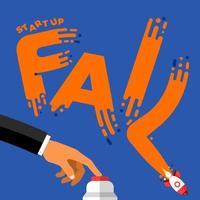 startup fail illustrations