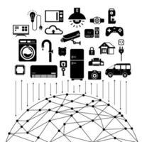 internet de las cosas vector