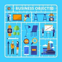 Business object tool kits vector