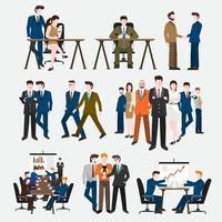 Set people vector