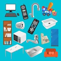 element object household vector