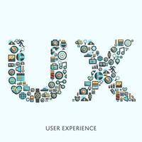 User experience illustration vector