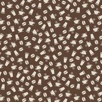 Background Pattern Coffee vector