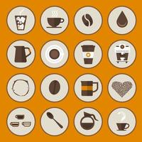 Icons Coffee Vector