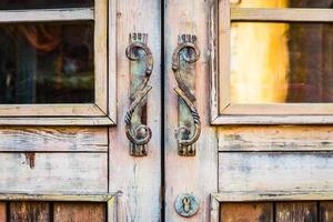 Door handle vintage style photo