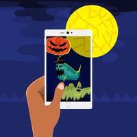 Halloween illustrations vector