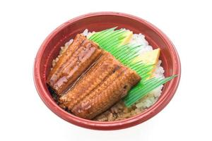 Japanese food in bowl photo