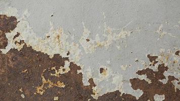 pared rayada oxidada foto