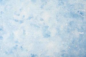 fondo de pintura de acuarela azul foto