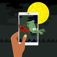 Halloween concept illustrations vector