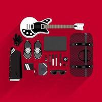 Lifestyle Rocker Illustrations vector
