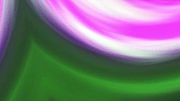 loop de curvatura geométrica gradiente multicolorida fractal