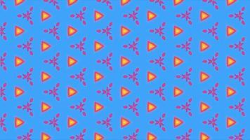 abstrakte Bewegung Geometrie Muster Retro-Stil