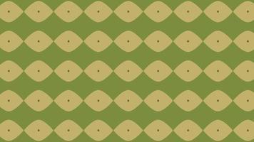 nahtloses Muster von erdfarbenen Kreisen