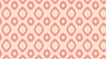 nahtloses Muster aus kombinierten Kreisen