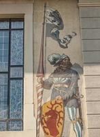 Detail of Unteres Curtihaus in Rapperswil, Switzerland photo