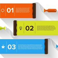 infographic template design vector