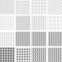 set vector background pattern