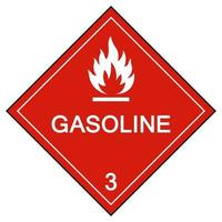 Gasoline Symbol Sign Isolate On White Background,Vector Illustration EPS.10