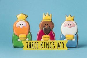 Three King's Day decorations photo