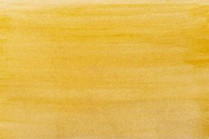 Yellow watercolor paper background photo