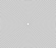 anillo de color blanco y negro cuadrado abstracto. Ilustración de vector abstracto para onda de sonido, gráfico monocromo.