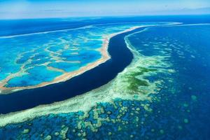 Great Barrier Reef in Queensland Australia