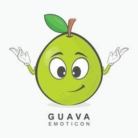 Guava Character Vector design