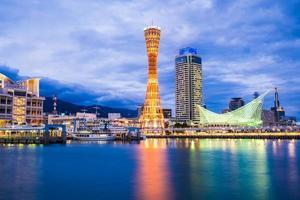 Beautiful cityscape of Kobe, Japan photo