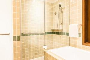 Bathtub and shower box photo