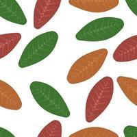 leaf pattern seamless