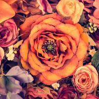 fondo de flores vintage foto