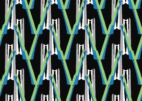 Vector texture background, seamless pattern. Hand drawn, green, blue, black, grey, white colors.