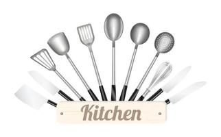a Kitchen tool vector