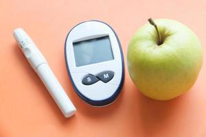 Diabetic monitoring tools photo
