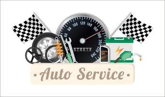 a auto service vector