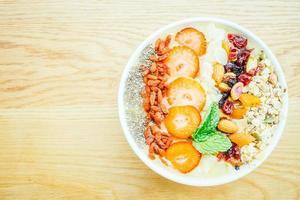 Smoothies healthy bowl photo
