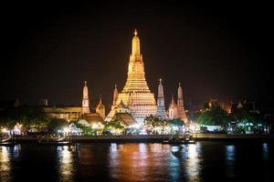 Wat Arun temple, landmark of Bangkok, Thailand photo