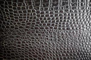 textura de cuero negro foto