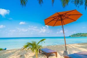 Tropical beach in Thailand photo